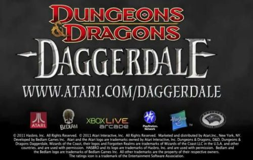 Dungeons and Dragons Daggerdale, tráiler