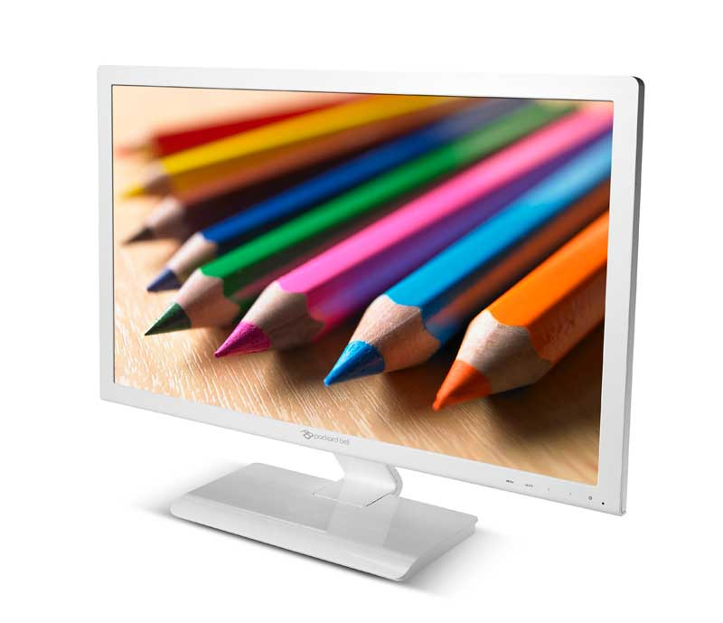 Monitor LED HD Packard Bell Maestro White 240