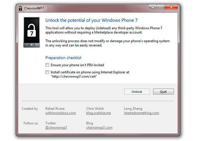 El jailbreak para Windows Phone 7 se lanzará muy pronto