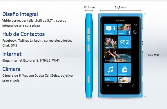 Unboxing y primeras impresiones de Nokia Lumia 800 (VIDEO)
