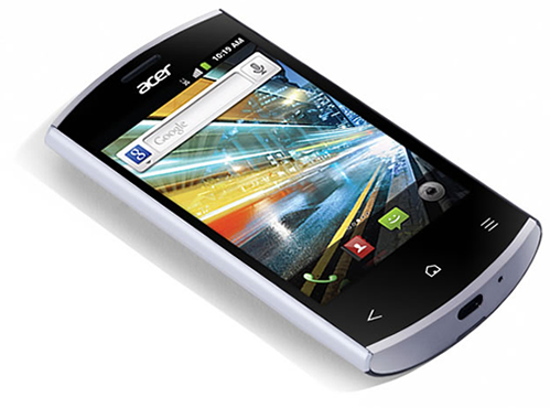 Acer Liquid Express, smartphone Android con soporte NFC