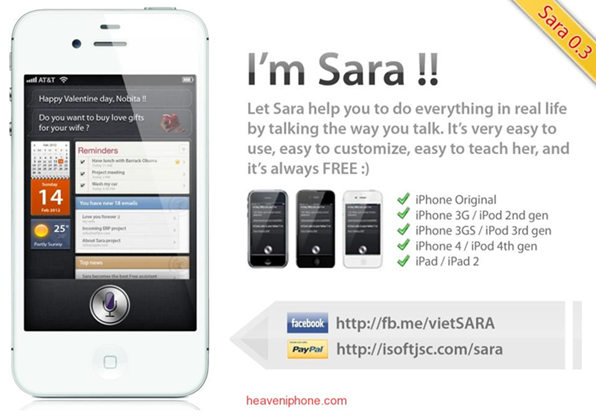 Sara Dictation, software para dictar y transcribir texto a tu iPhone en 39 idiomas