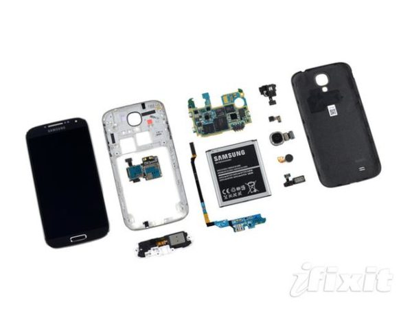 Despiece del Samsung Galaxy S4