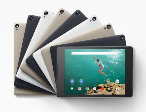 Nexus 9, ya disponible en España