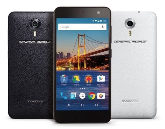 General Mobile 4G, el primer Android One para Europa