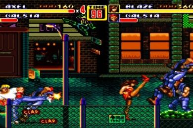Consigue Streets of Rage II, Binary Domain y Condemned gratis