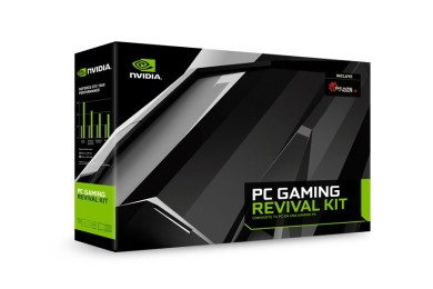 NVIDIA anuncia PC GAMING REVIVAL KIT: tarjeta gráfica, SSD y fuente