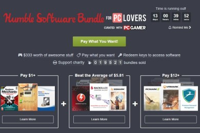 Nuevo Humble Bundle con software para los amantes del PC