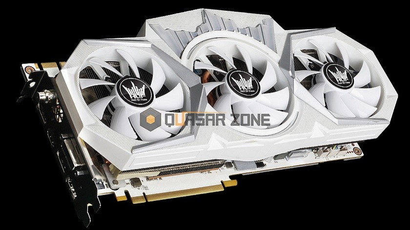 GALAX GeForce 1080 Ti Hall of Fame con tres conectores de 8 pines