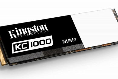Kingston presenta las SSDNow KC1000, M.2 rapidísimas