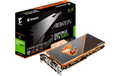 GIGABYTE lanza la GeForce GTX 1080 Ti AORUS Waterforce XE