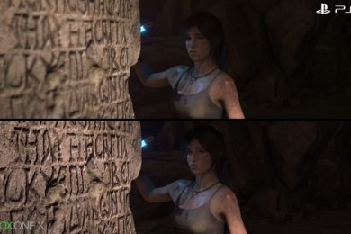Rise of the Tomb Raider: Xbox One X frente a PS4 Pro