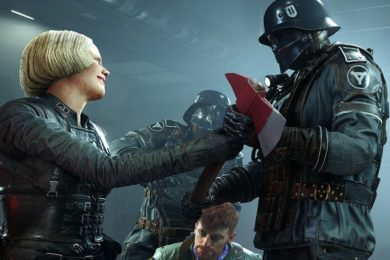 Tráiler de lanzamiento de Wolfenstein II: The New Colossus
